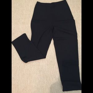 Sweater Type Black Pull On Pants Small